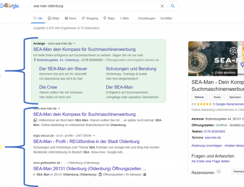 Was ist Search Engine Advertising (SEA)?